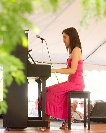 3 - Stephanie Trick performing at the 2010 CT Jazz Festival in Meriden CT.