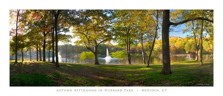 Autumn Afternoon in Hubbard Park - Meriden CT