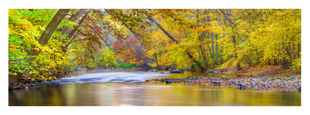 #18 Autumn on the Quinnipiac River, South Meriden CT